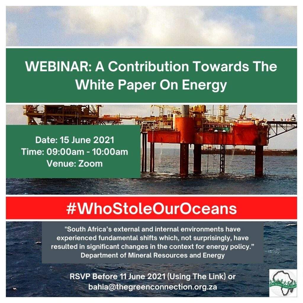 Webinar – A Contribution Towards The White Paper On Energy
